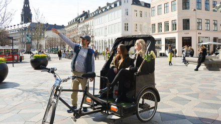 Nyhed: 1,5 times guidet cykeltaxatur for 2